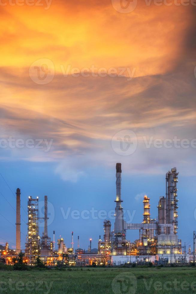 olieraffinaderij foto