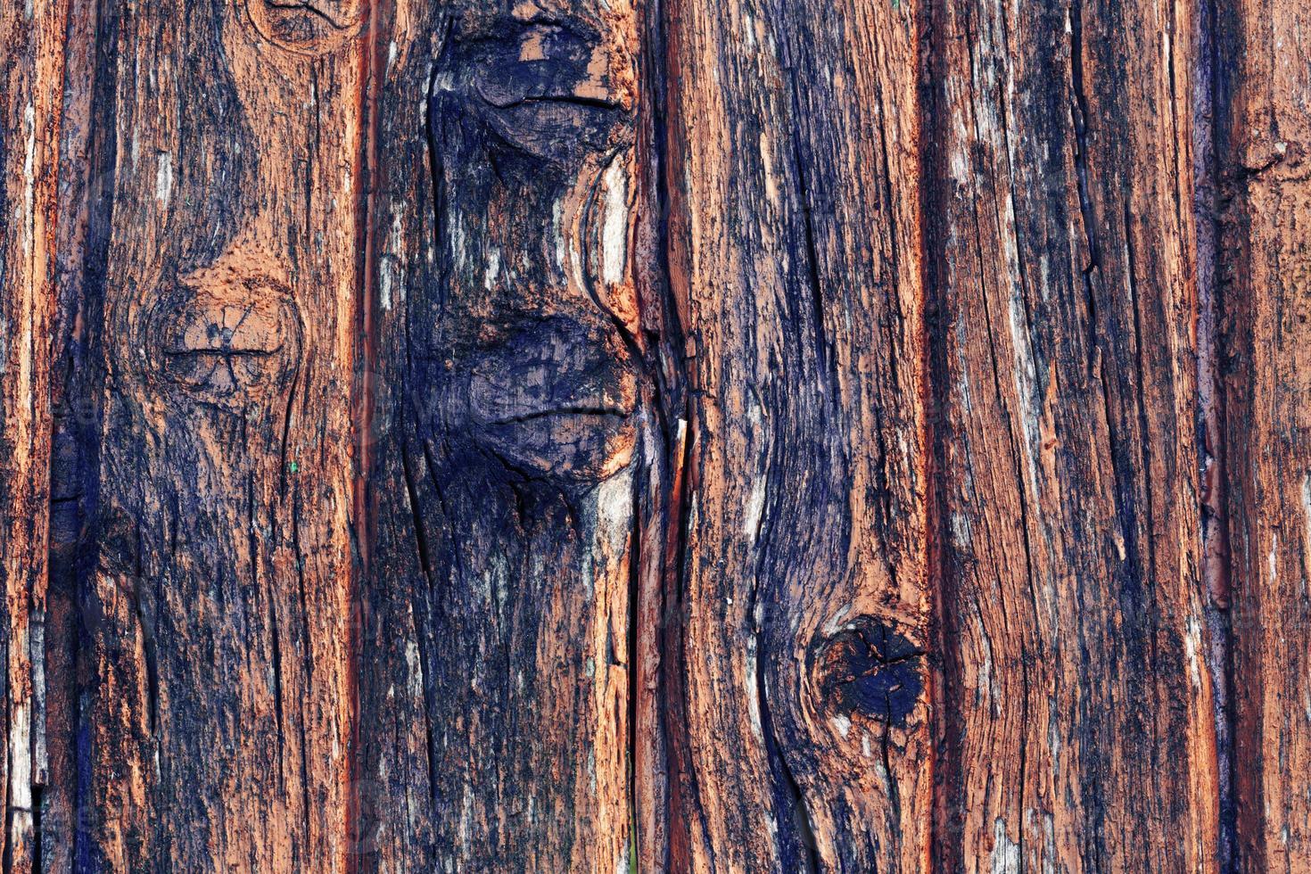 houten achtergrond is een oude retro vintage foto