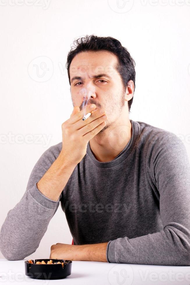 rokende man foto
