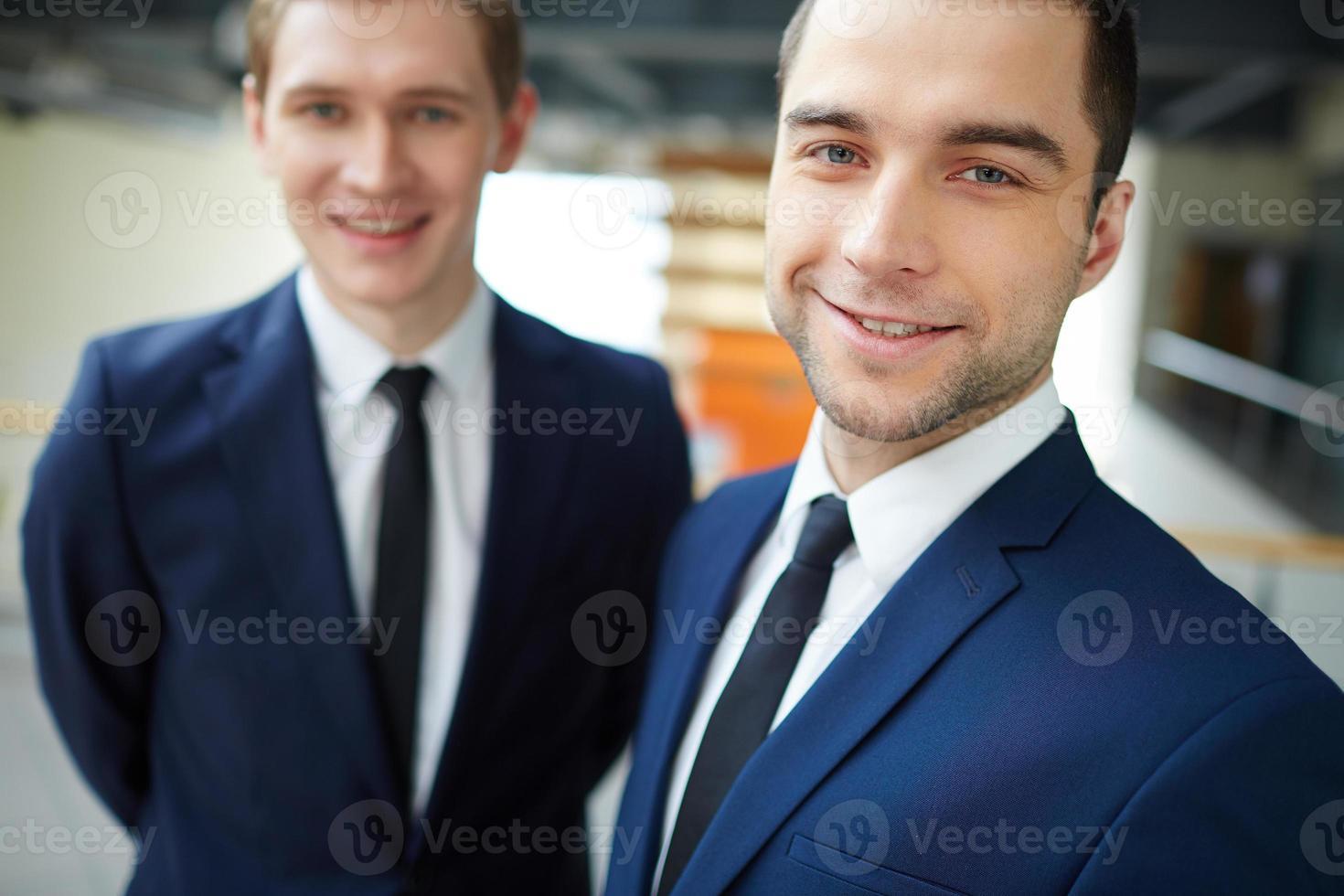 gelukkige leider foto