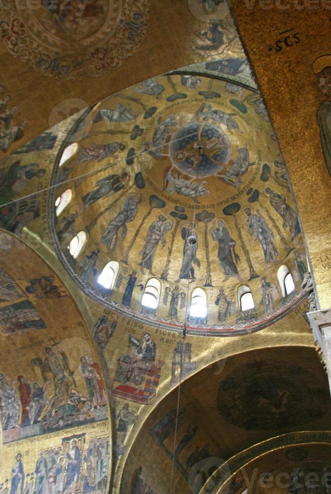 Basilica di San Marco in Venetië, Italië. foto