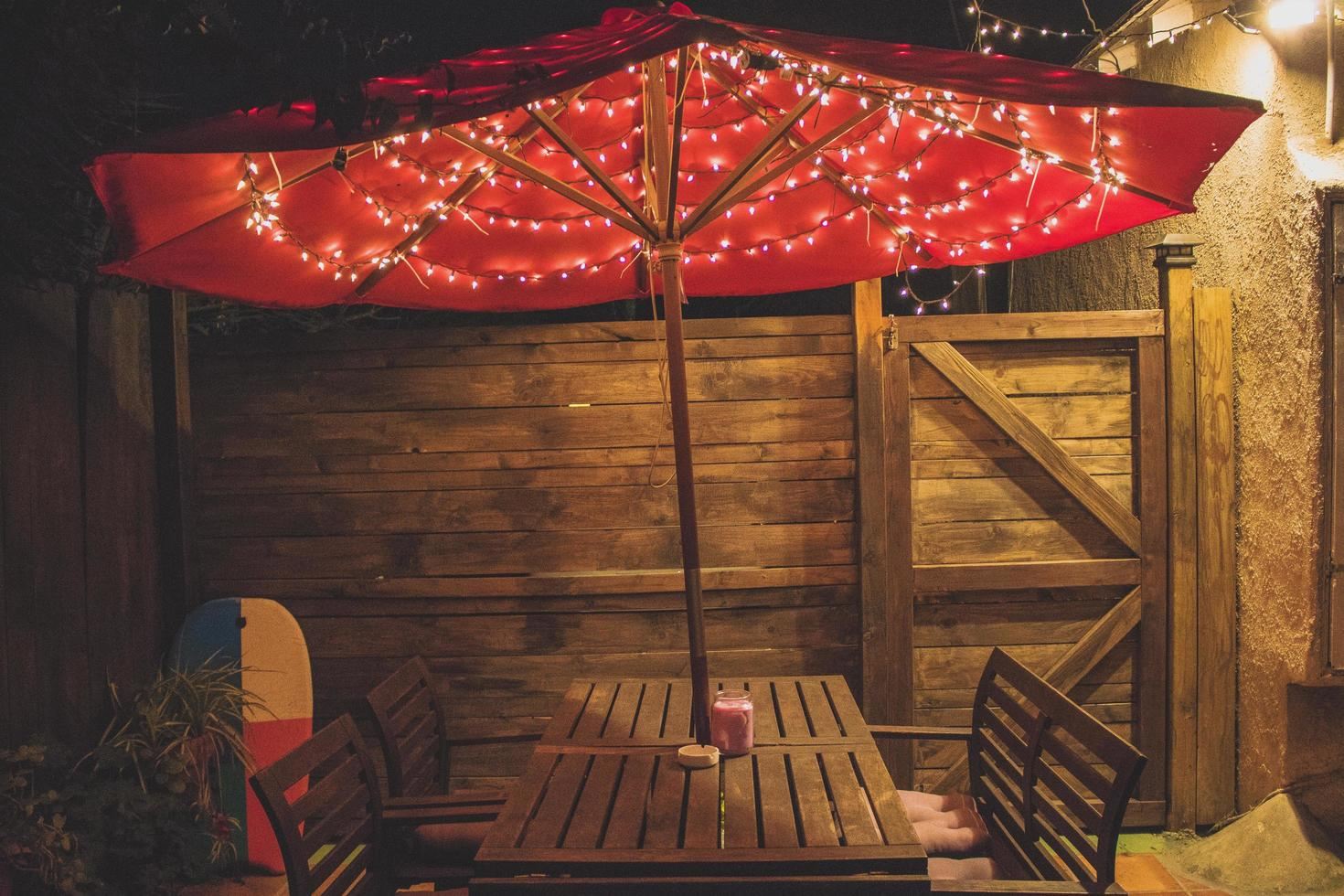 patio in cabana-stijl foto