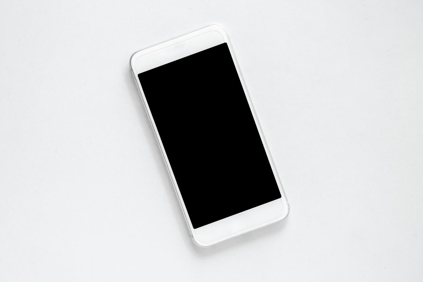 close-up van een smartphone foto