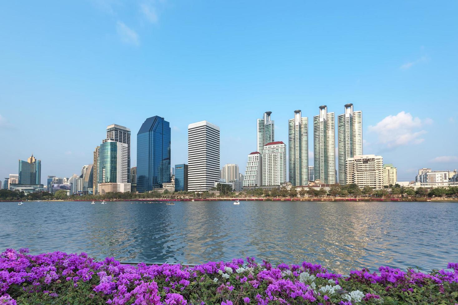 centraal park van bangkok foto
