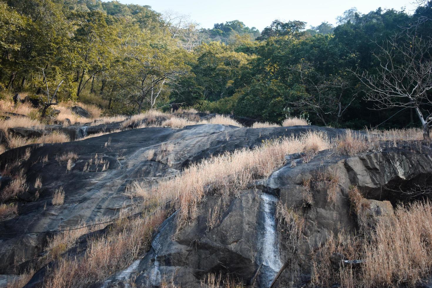 zwarte vallei steen foto