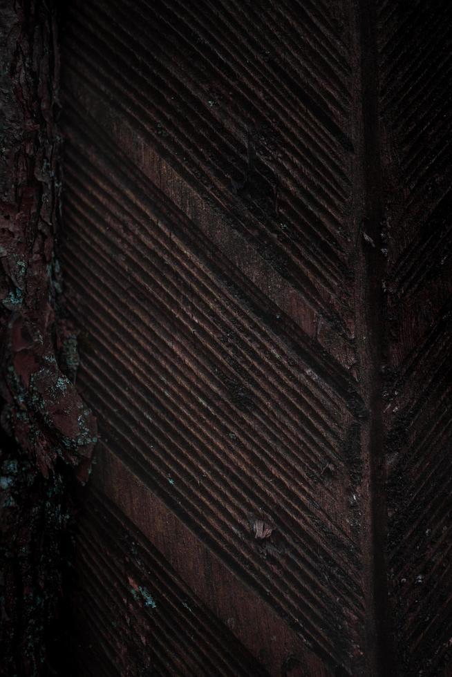 bruine houten deur foto
