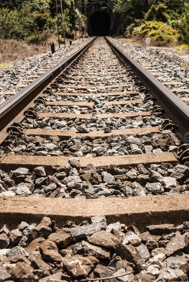 lage-snelheidsspoorweg. ook verkrijgbaar in ontwikkelingslanden. foto