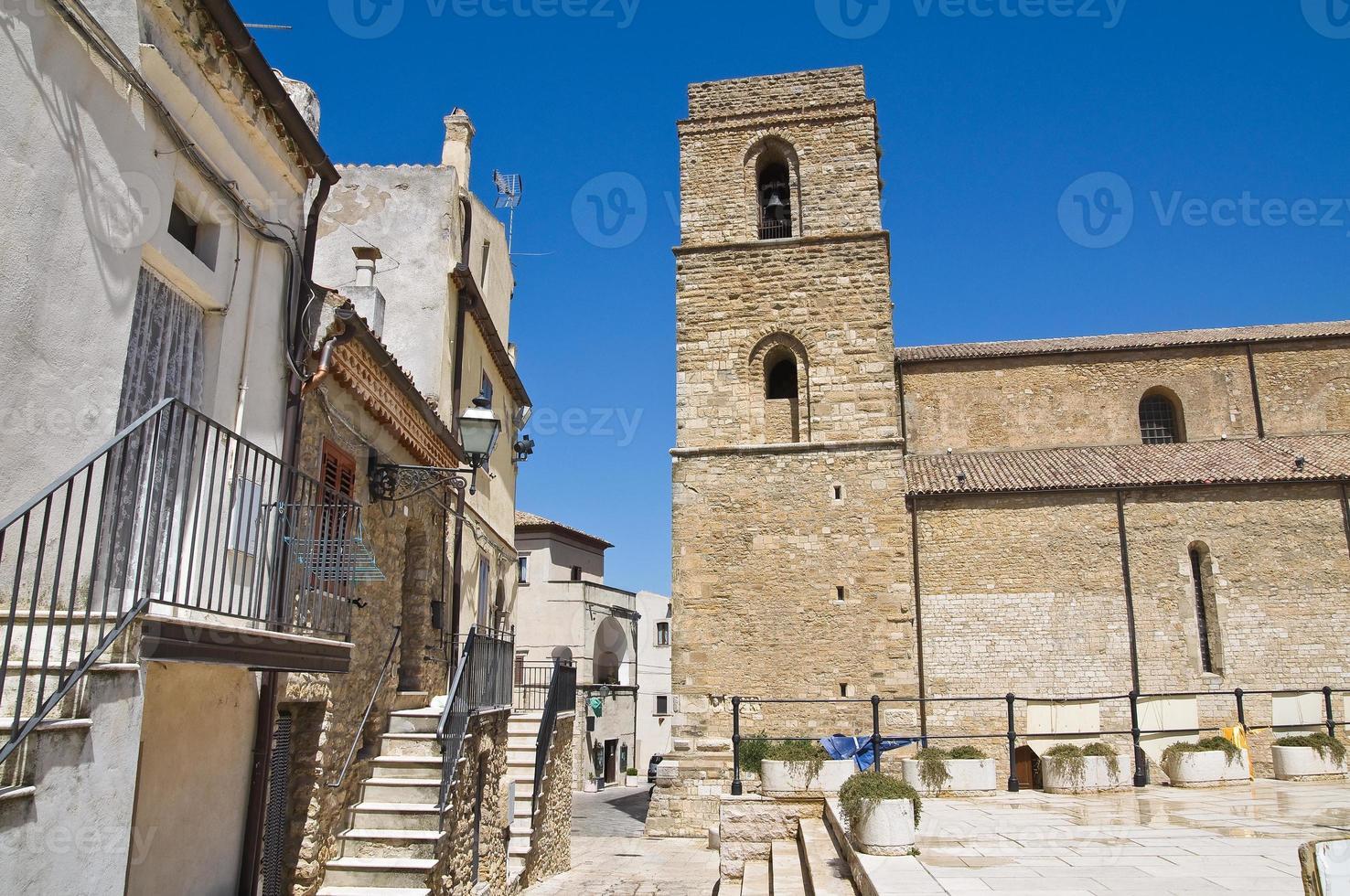 kathedraal van acerenza. basilicata. Italië. foto