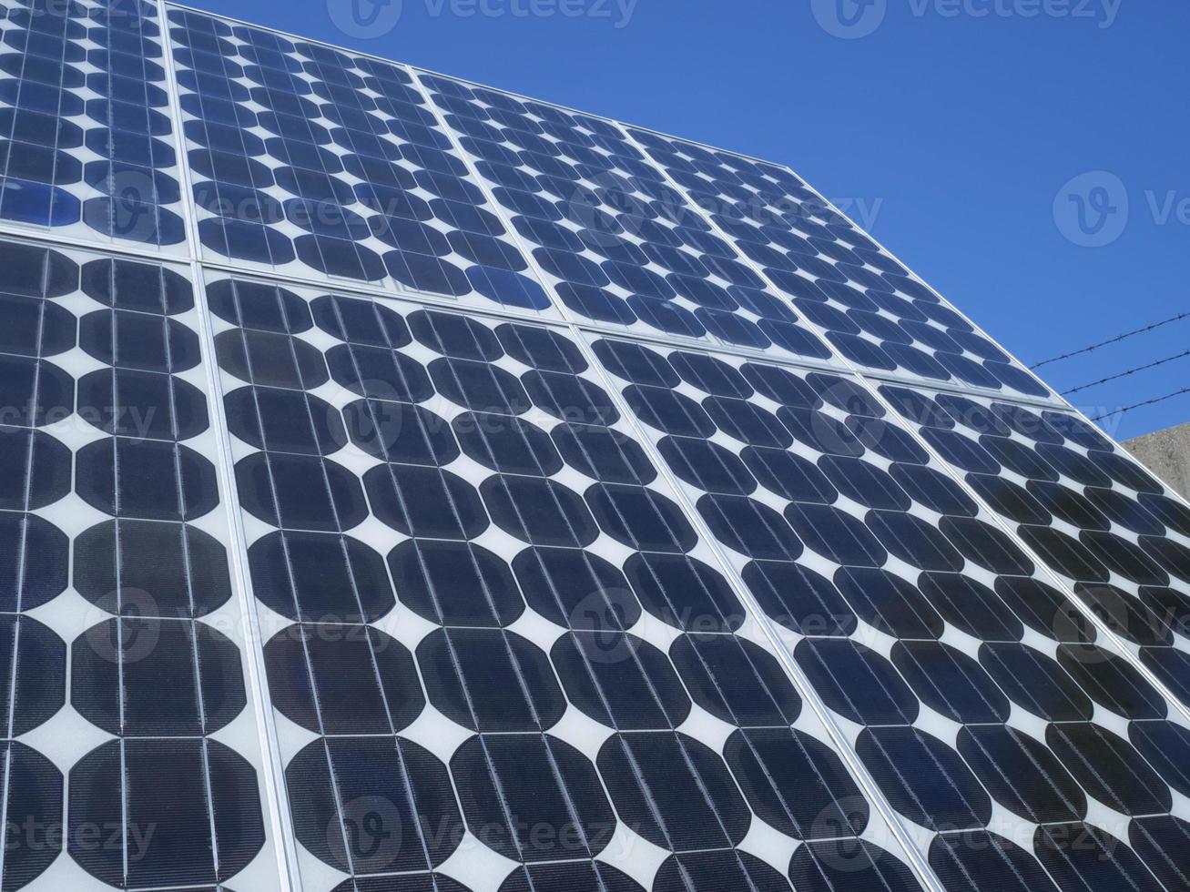 fotovoltaïsche cellen zonnepaneel foto