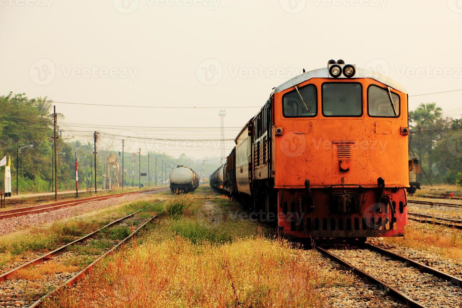 oude tankwagentreinen foto