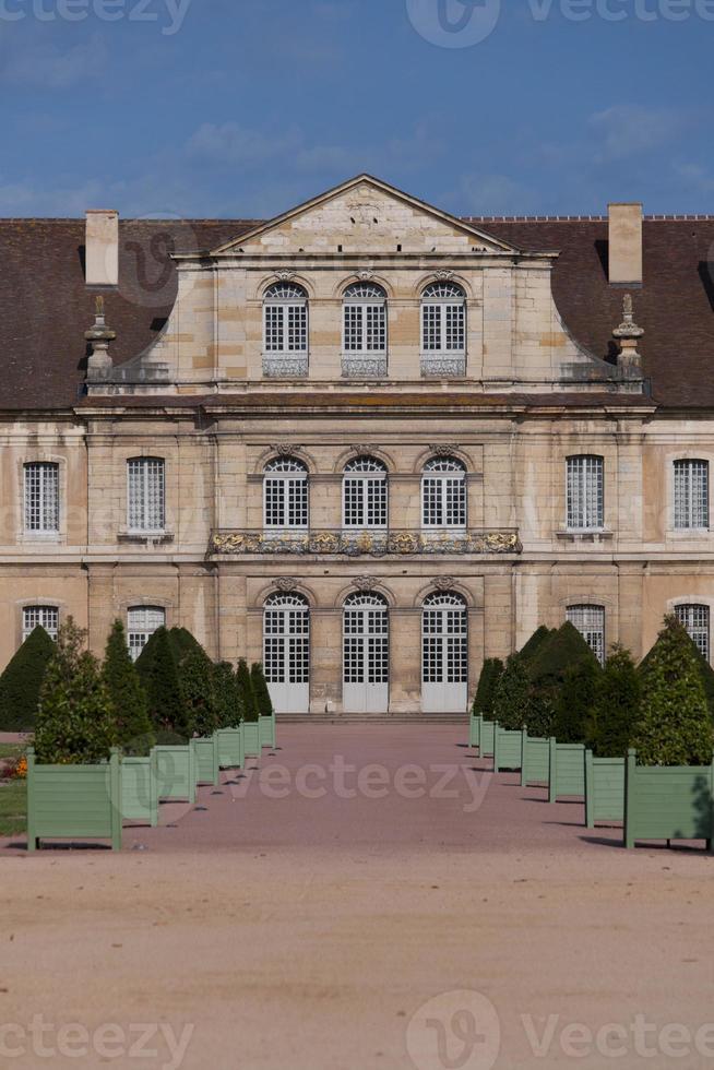 zijgevel van de abdij van Cluny foto