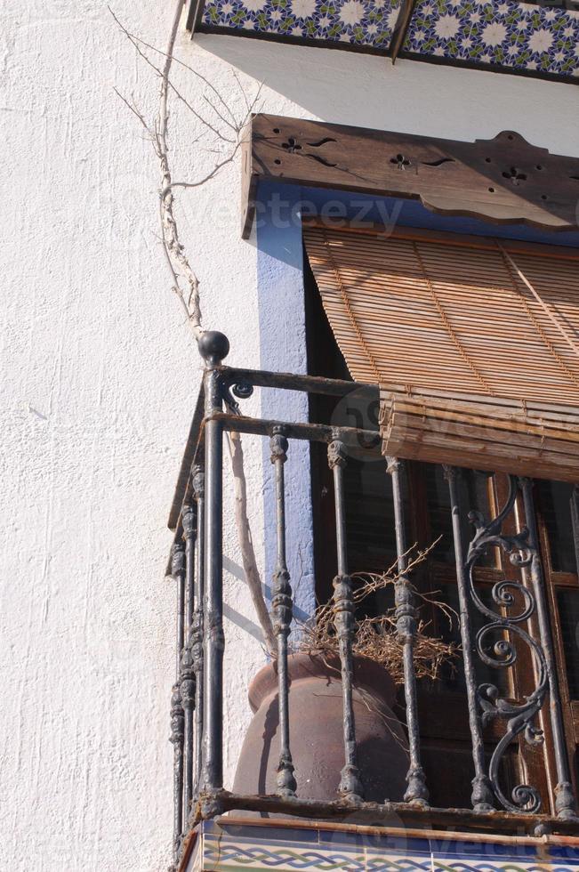 mediterraan balkon foto
