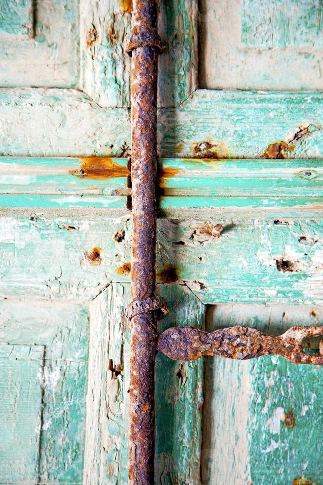 Marokko in Afrika het oude groen foto