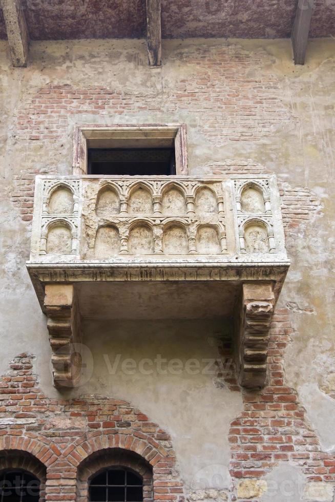 balkon van romeo en juliet foto