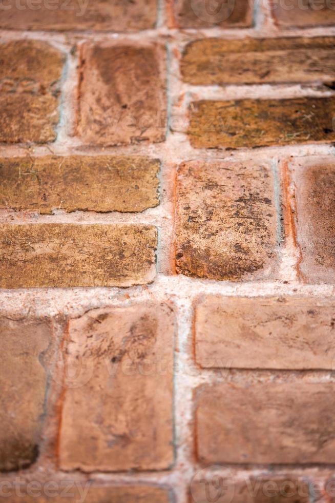 een deel van de bakstenen muurachtergrond foto