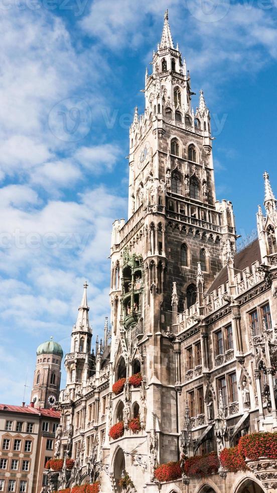 het stadhuis van München foto