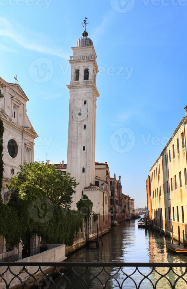 Venice Street, Italië foto