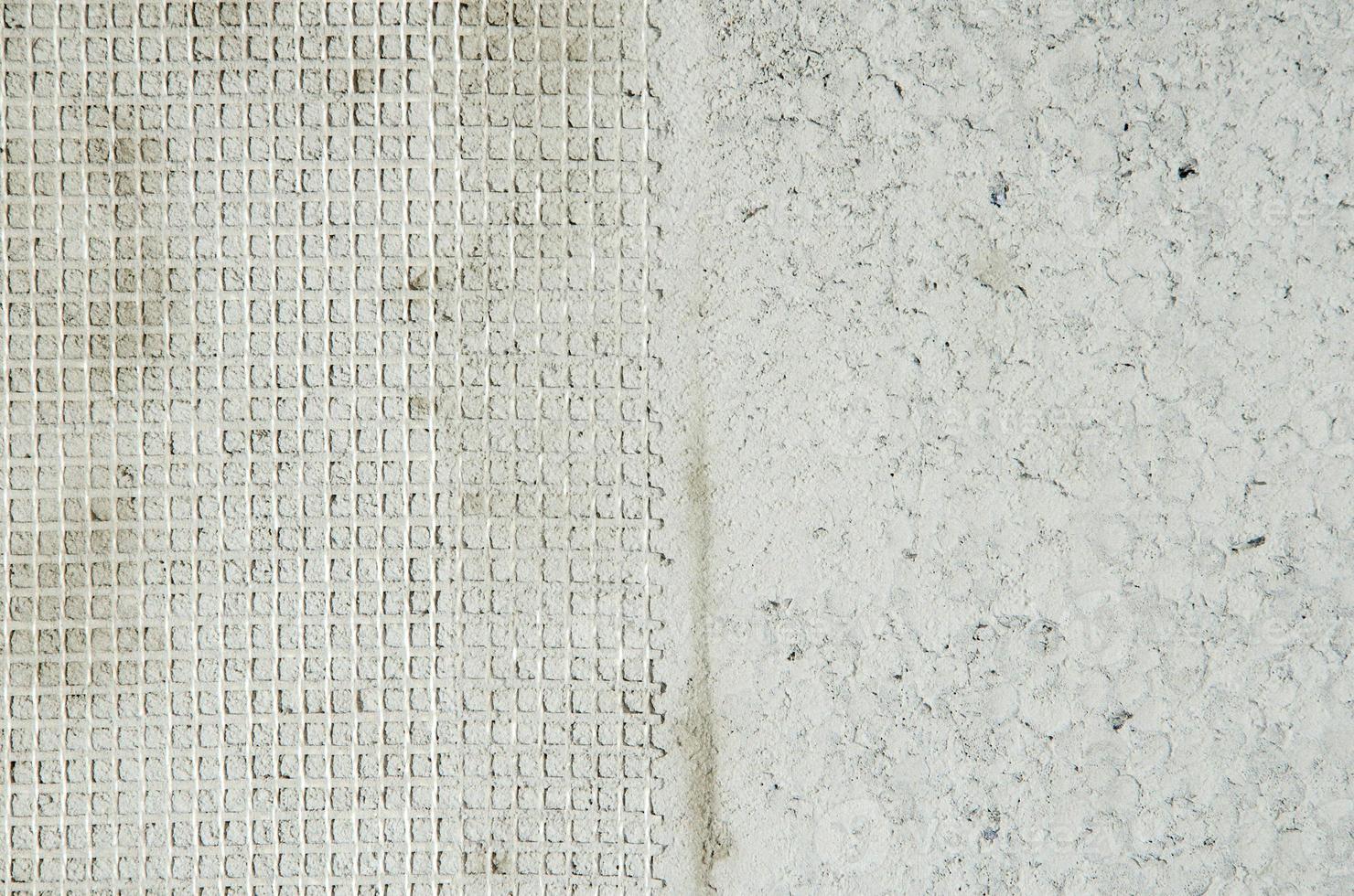 twee soorten muur textuur. foto