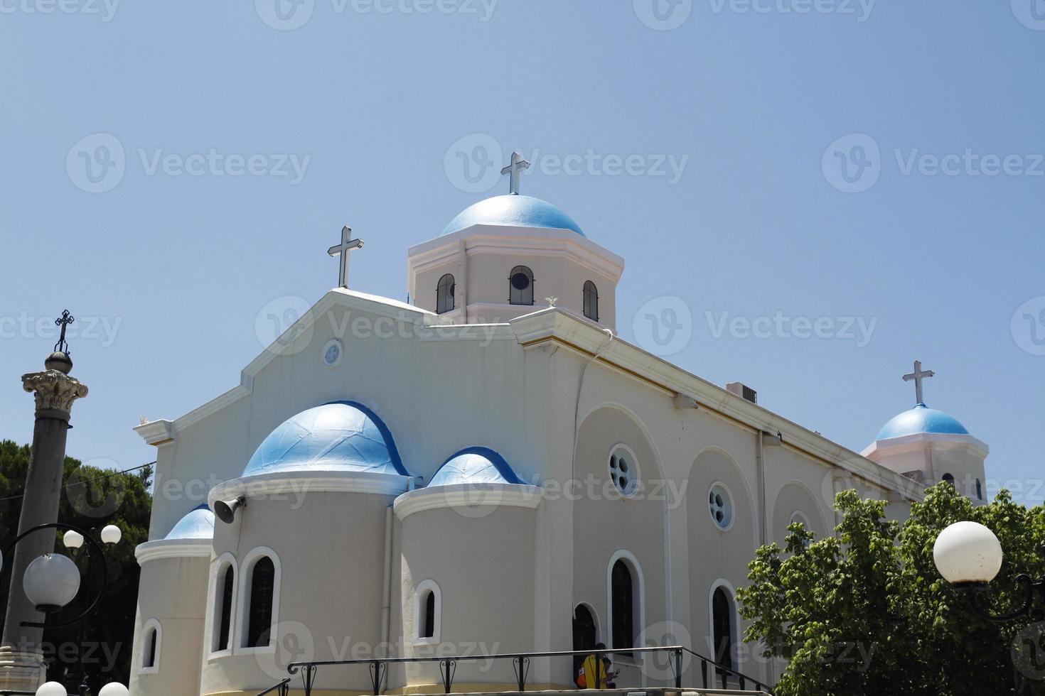 de kerk van agia paraskevi foto