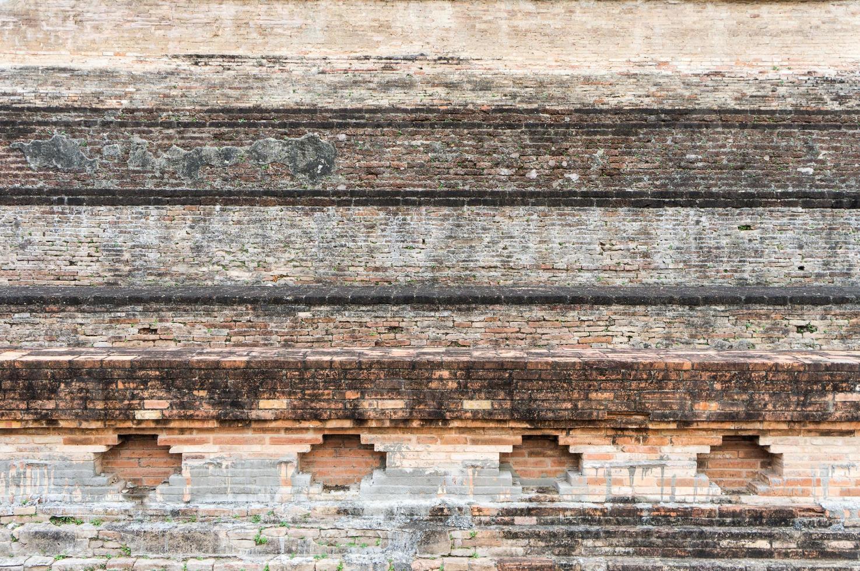 baksteen 3 muur 1 foto
