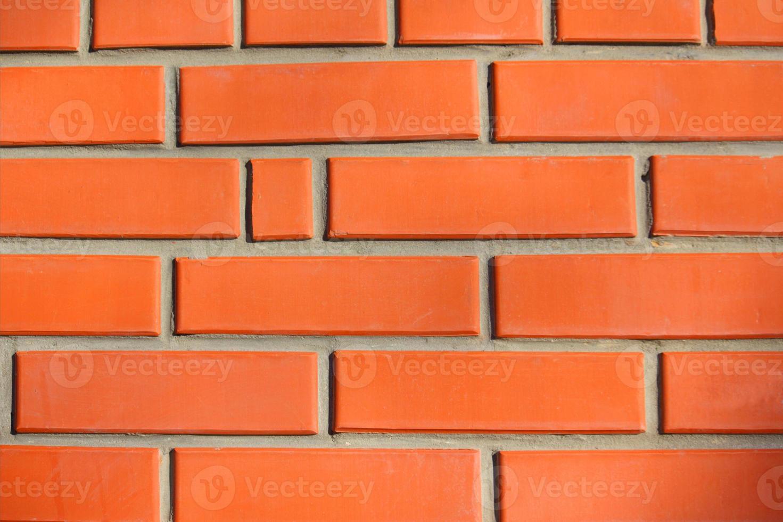bakstenen muur architecturale textuur als achtergrond foto