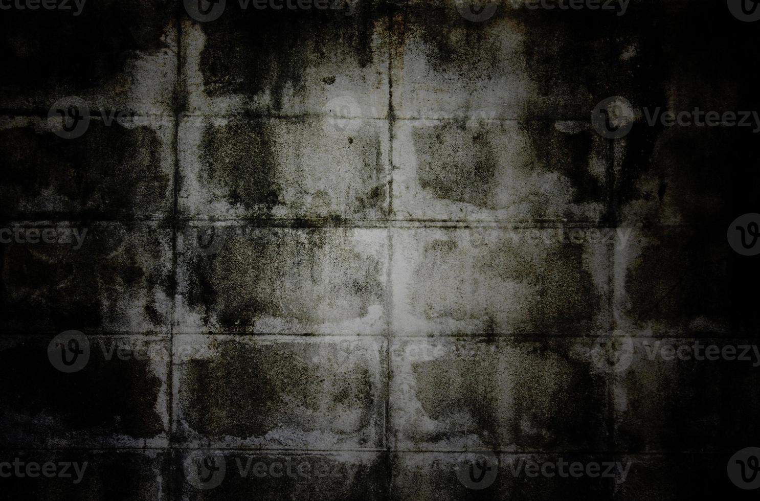 oude grunge muur textuur met vignet foto
