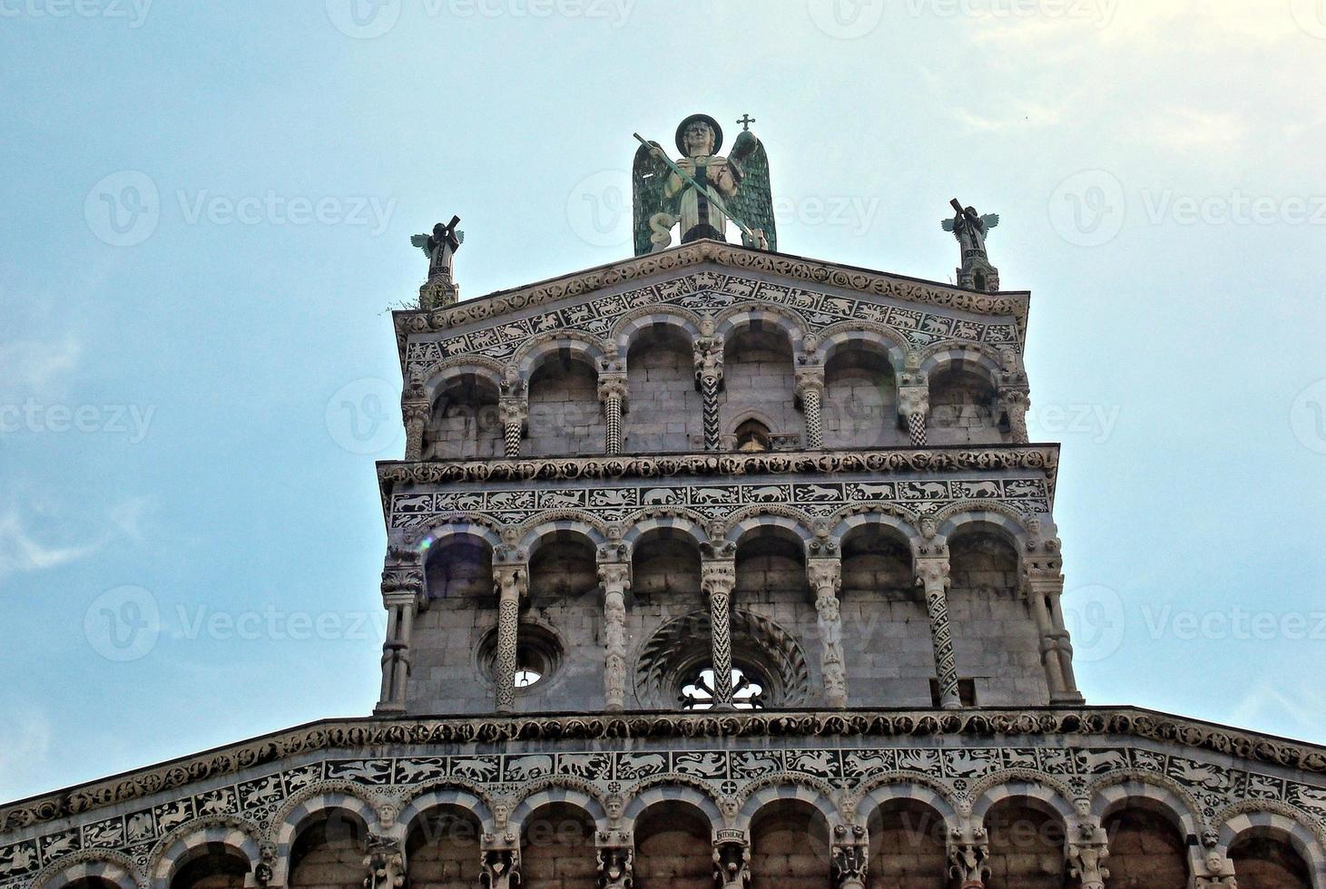 kerk lucca, italië foto