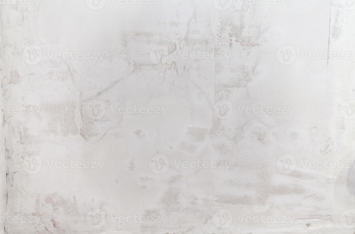 grungy witte betonnen muur achtergrond foto