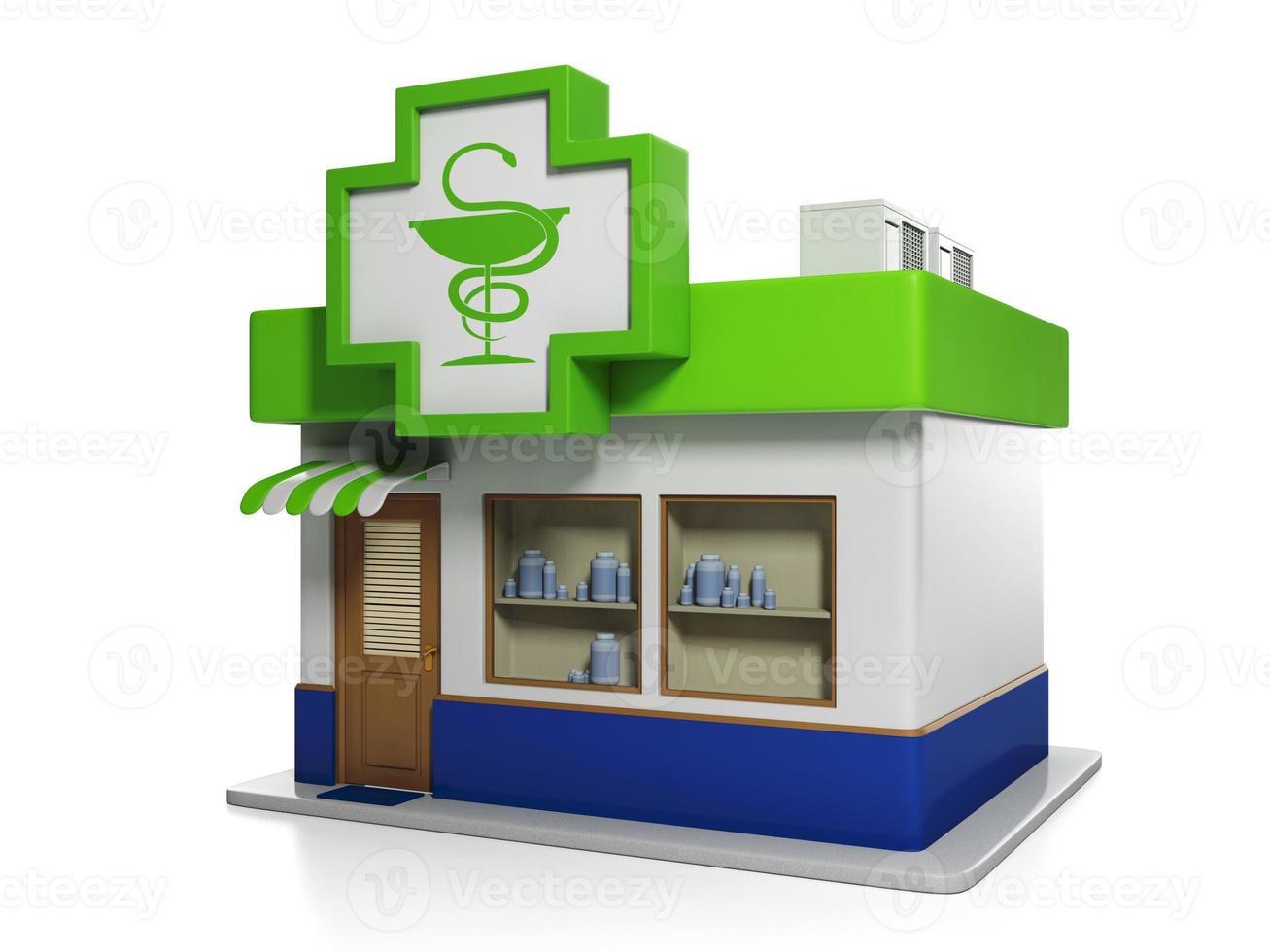 apotheek gebouw foto