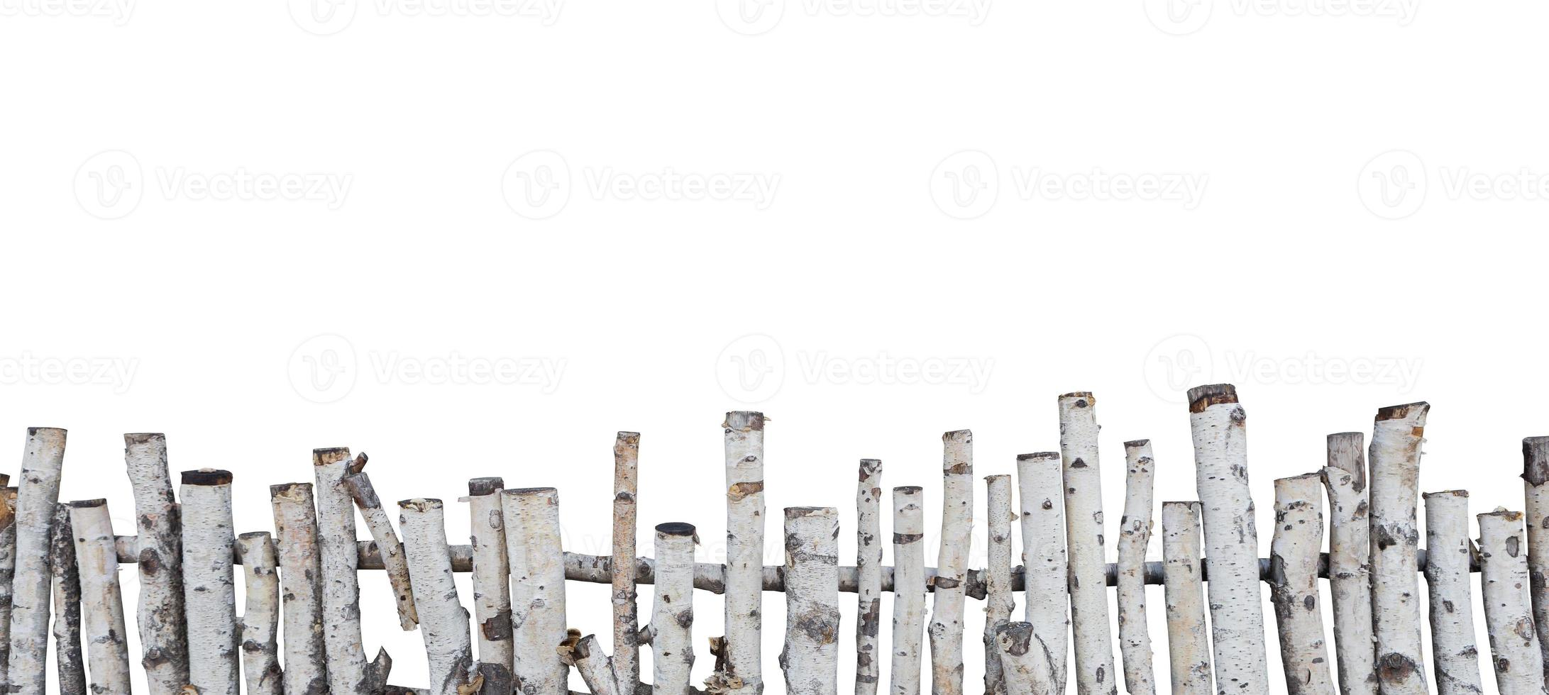 oude houten hek foto