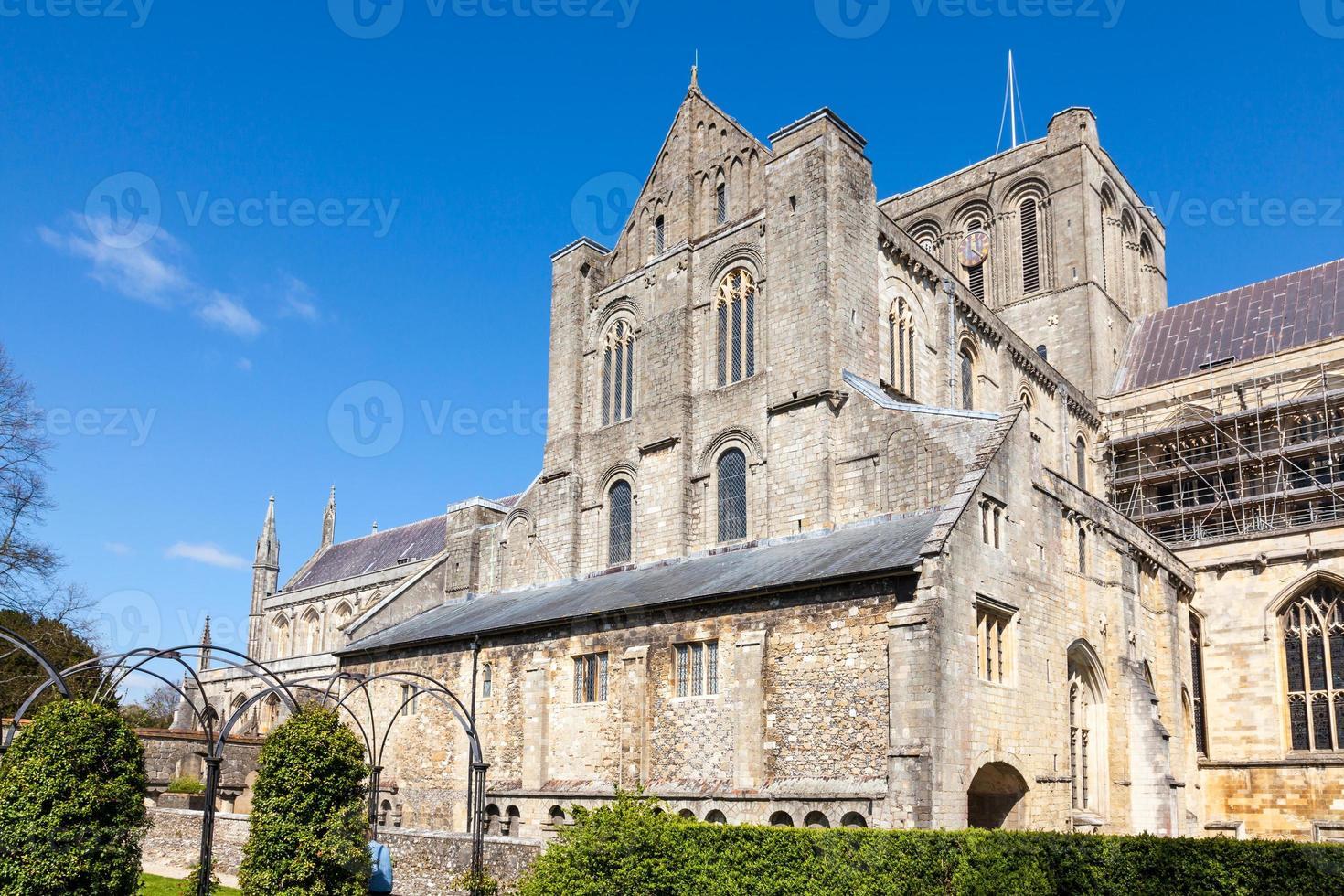kathedraal van Winchester foto