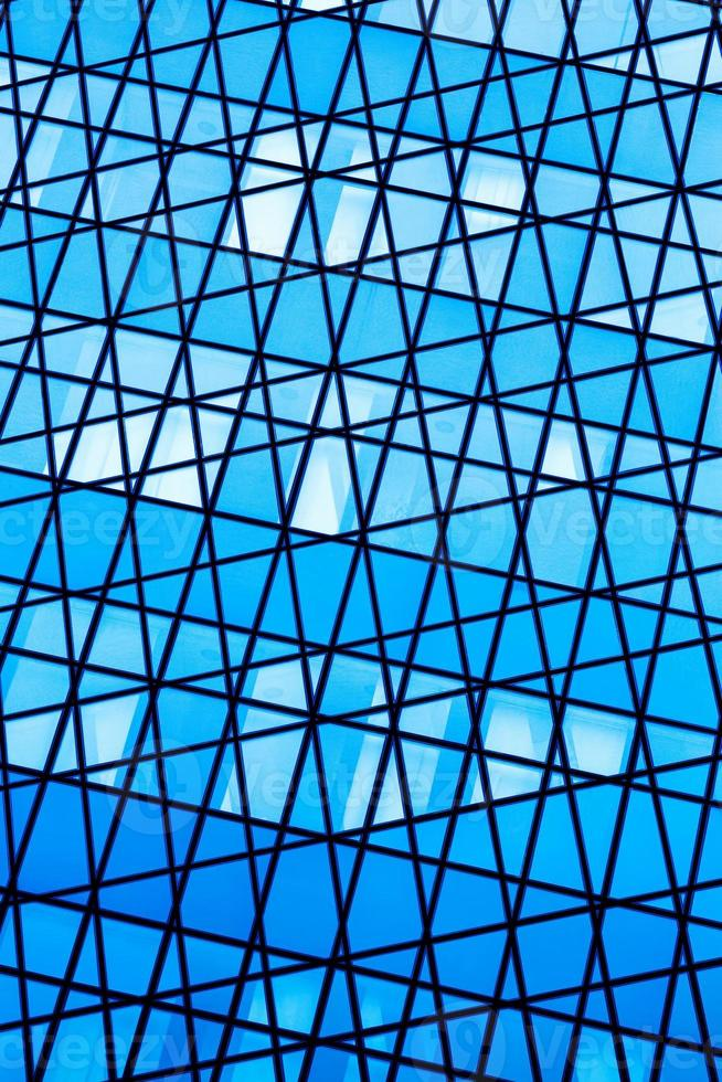 abstracte glazen achtergrond foto