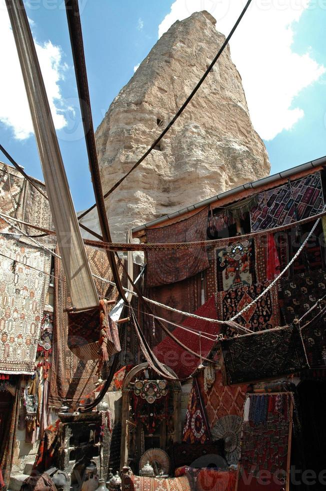 bazaar in Cappadocië, Turkije foto