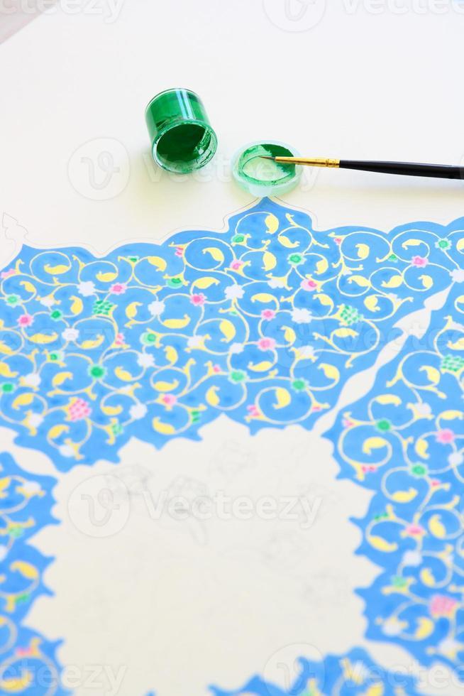ottoman vergulden maken foto