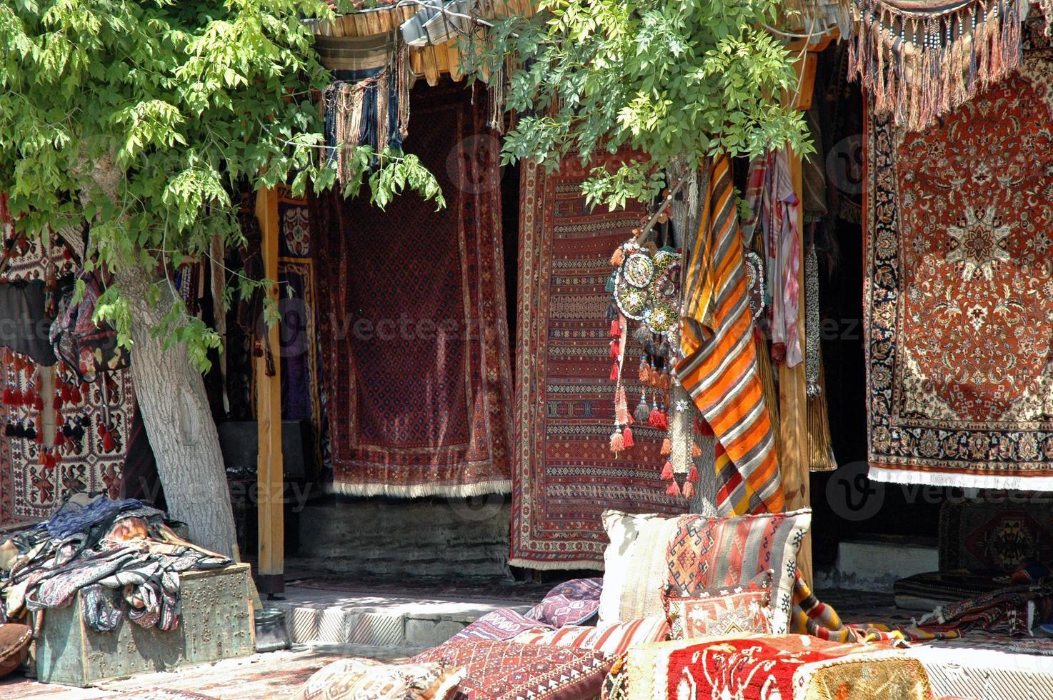 oude Turkse tapijten, anatolië foto