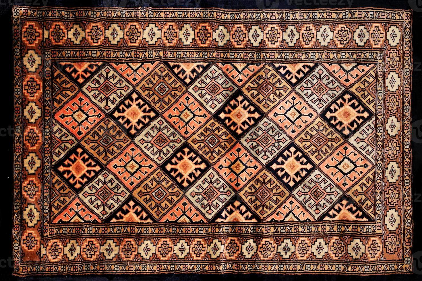 Perzisch tapijt textuur foto