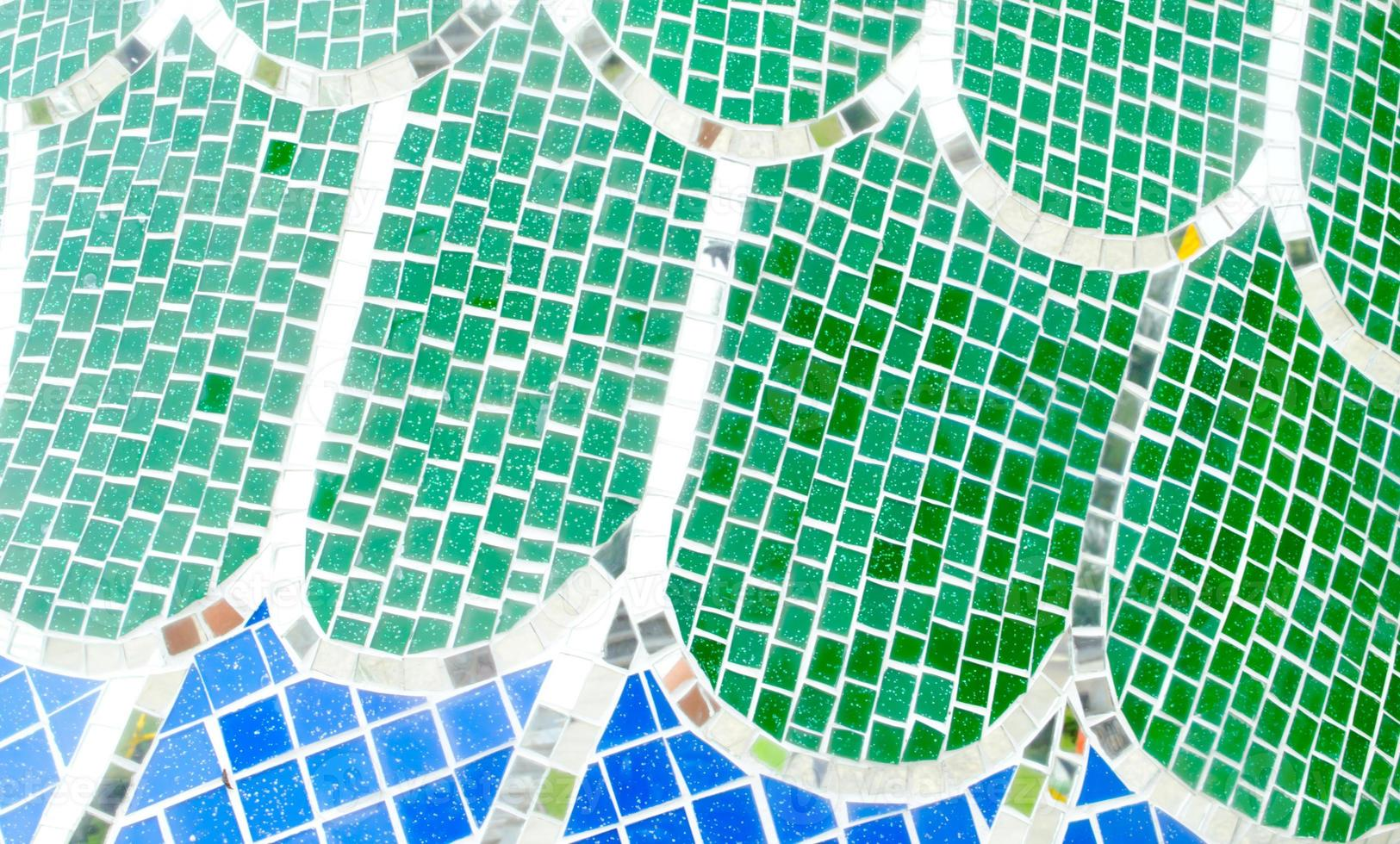 kleurrijk mozaïek foto