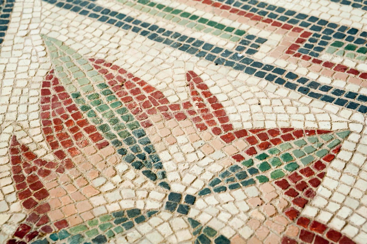 Romeinse mozaïeken foto