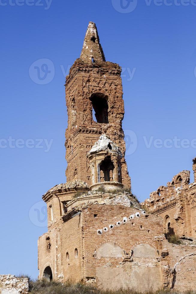 Belchite dorp verwoest tijdens de Spaanse burgeroorlog foto