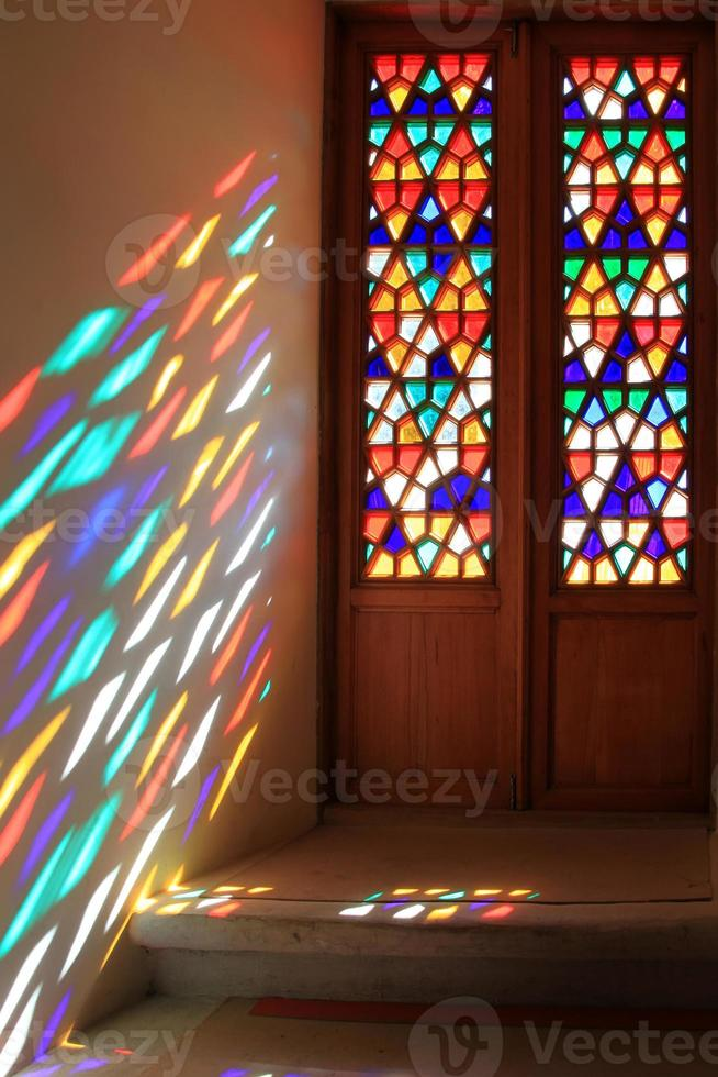 glas-in-lood raam foto