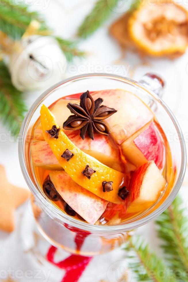 pittige warme drank voor kerst foto