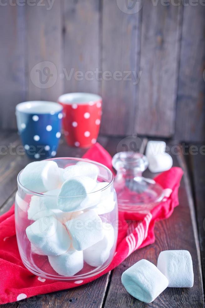witte marshmallow foto