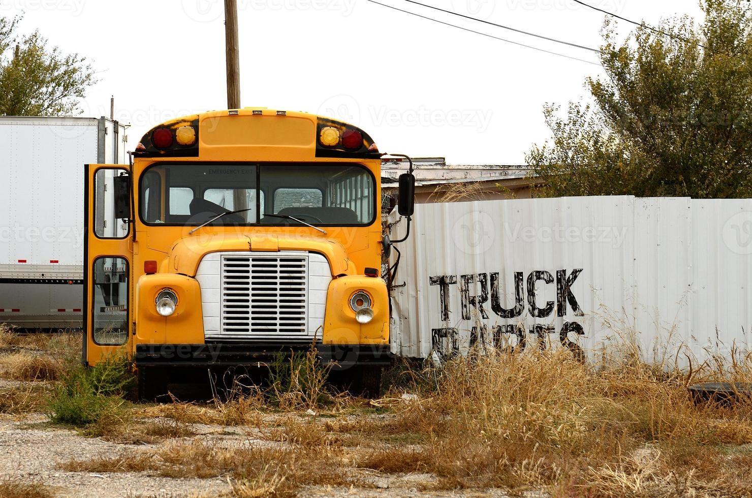 oude bus foto