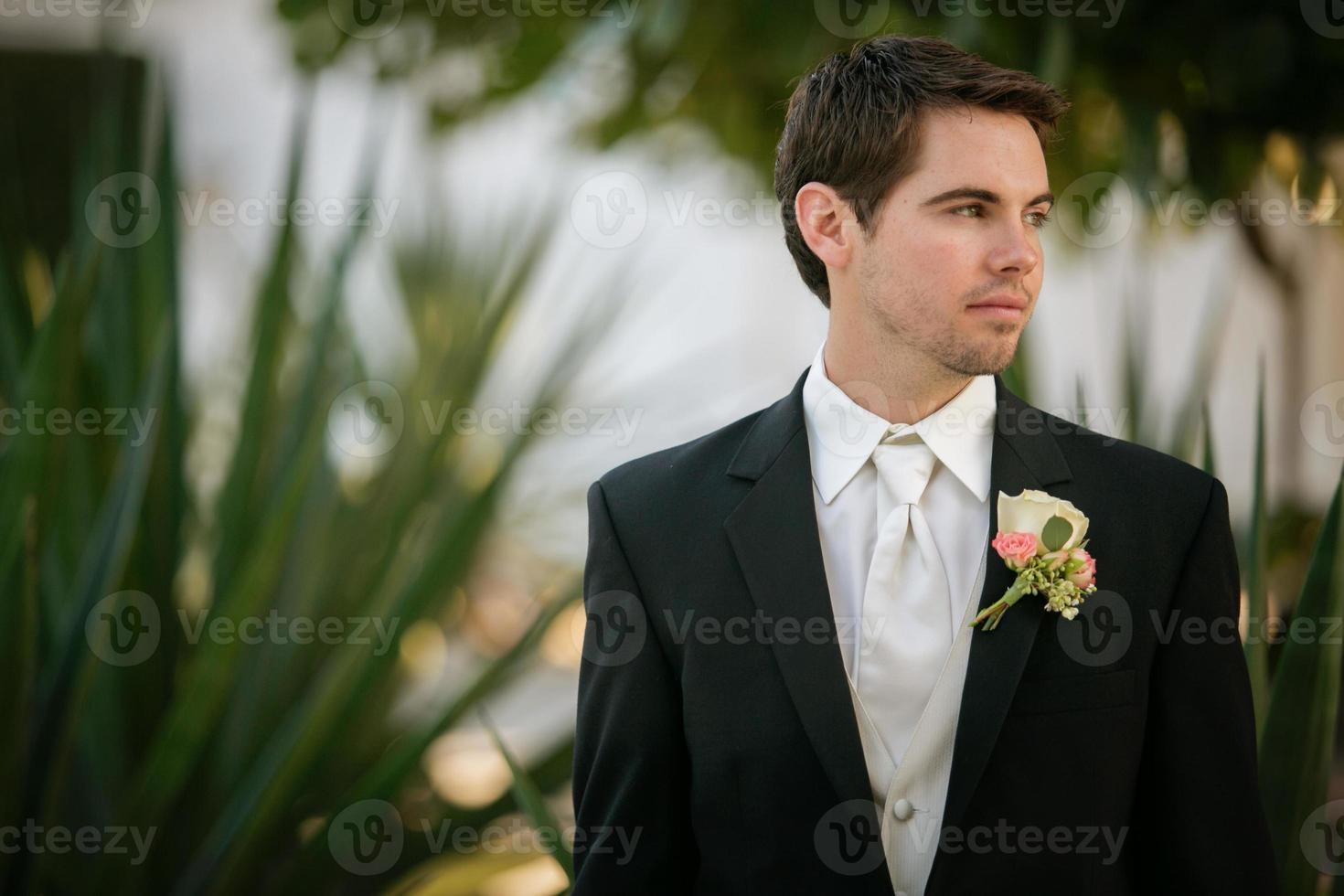 de bruidegom foto