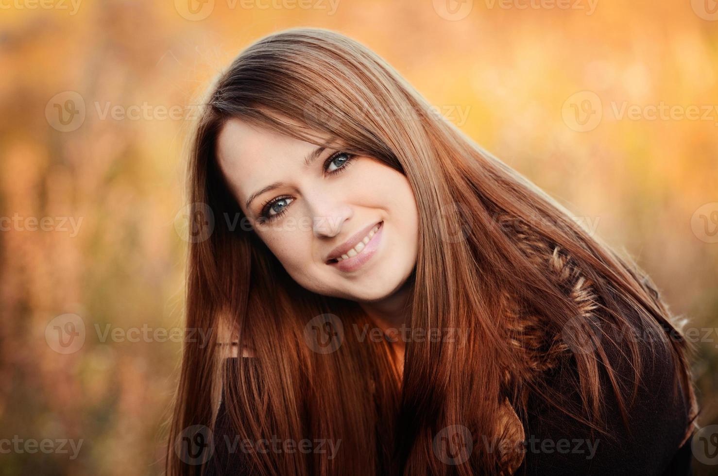 herfst meisje foto
