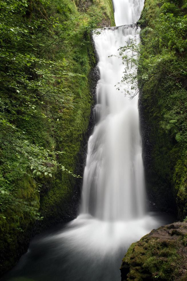 time-lapse van waterval foto