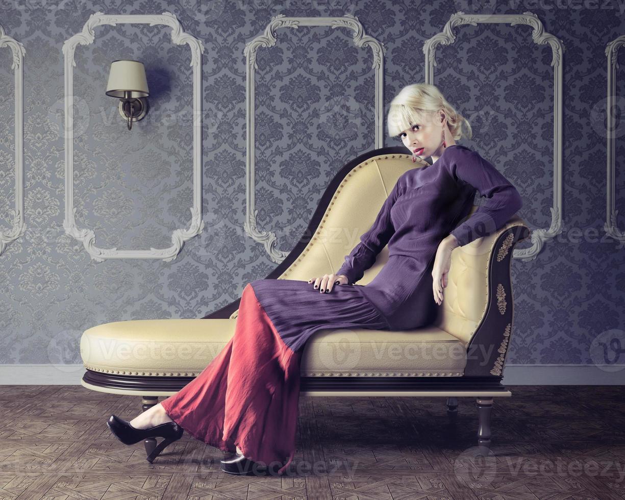mooie vrouw foto