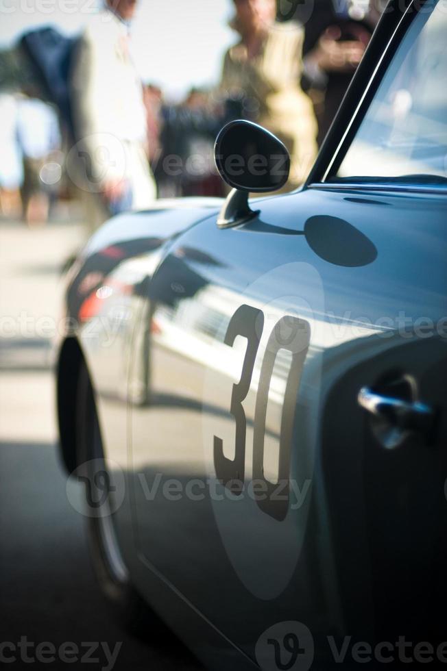 klassieke sportwagen foto