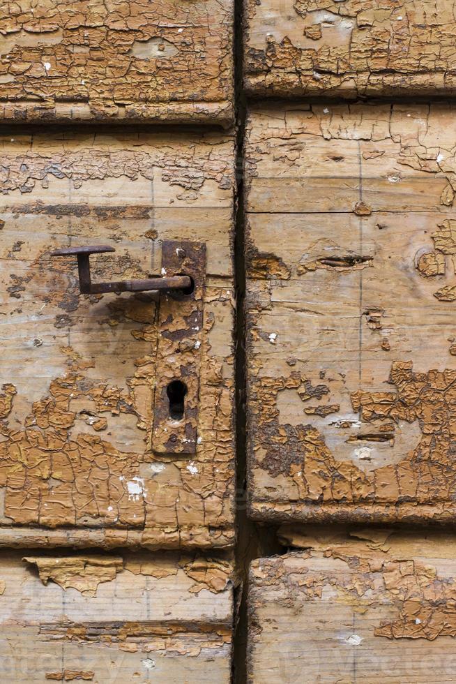 oude deurknop foto