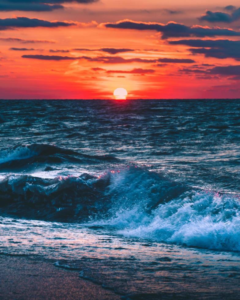 uitzicht op de oceaan foto